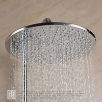 HIDEEP 8/10/12 Inch Rainfall Shower head Bathroom Shower Faucet Head Rain Ultrathin Shower Head