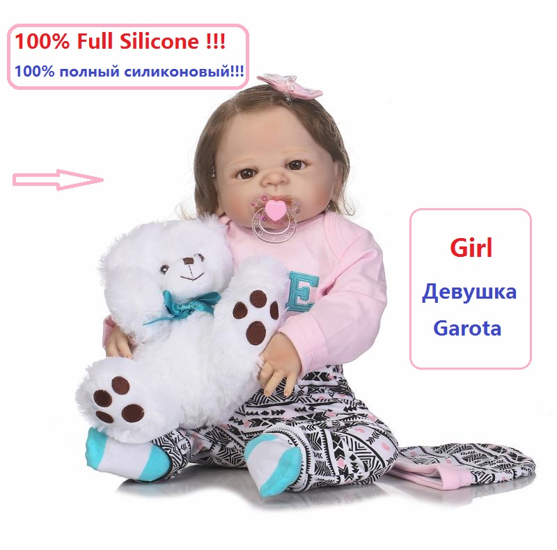 23 Doll Reborn Realistic Newborn Toddler Reborn Baby Dolls for Sale full silicone reborn baby girls