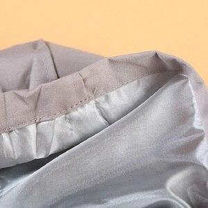 Image 5 - Пальто Тренч для девочек Hooyi, детская одежда, верхняя одежда с капюшоном для девочек, серая куртка с капюшоном, джемперы, пальто для детей 1 5 лет