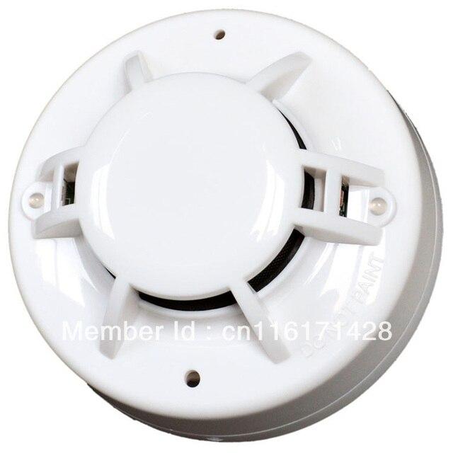 4-wire MCU Conventional Smoke & Heat Detector Conventional Multi Sensor with Relay output   Smoke alarm Heat alarm