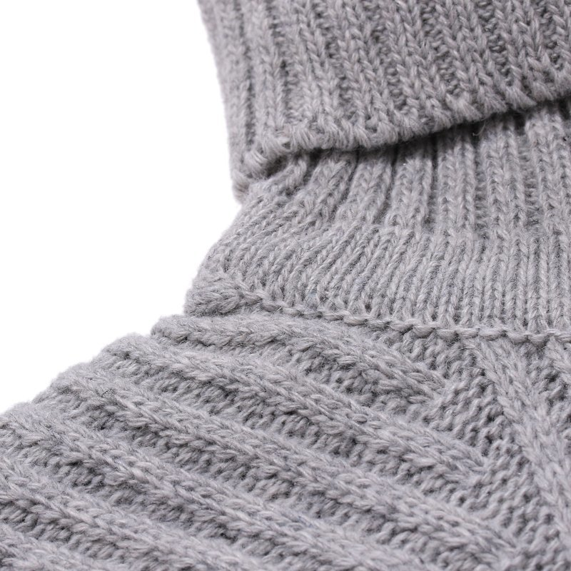Winter Men 39 s Cashmere Knitting In Warm Mens Woolen Sweaters Casual Pullover Brand Sleeve Single Man Knit Turtleneck Size M 2XL in Pullovers from Men 39 s Clothing
