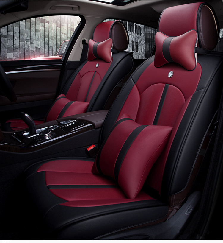 high quality full set car seat covers for hyundai kona 2018 comfortable durable fashion seat. Black Bedroom Furniture Sets. Home Design Ideas