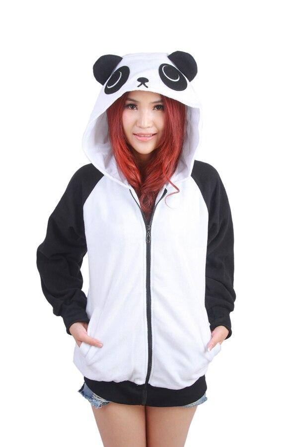 Wow!!! Bebas biaya kirim! Jepang Lucu Kostum Cina Panda Telinga Wajah - Pakaian Wanita - Foto 2