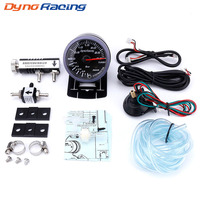 Dynoracing Free shipping 60MM Car Turbo Boost Gauge 3Bar + Adjustable Turbo Boost Controller Kit 1 30PSI IN CABIN Car Meter