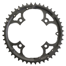 лучшая цена ZTTO 44T Chainring 9 Speed Crank Carbon Steel Chain Ring for Shimano SLX XT Crankset