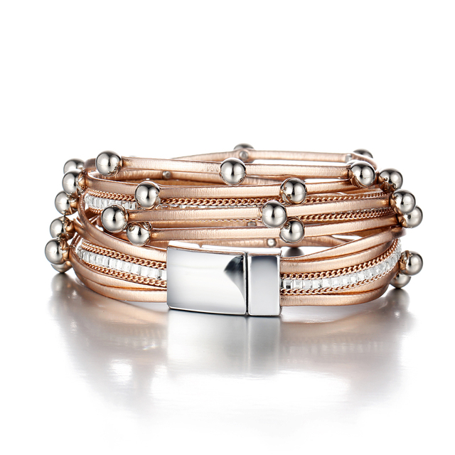 Women's Multilayers Charm Bracelet