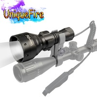 UniqueFire 1504 850nm IR Torch Led Flashlight Lanterna T67 Tactical Infrared Rechargeable for Night Vision Hunting