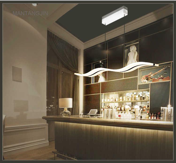 Горячая Распродажа 38 Вт современные потолочные светильники для гостиной акриловые потолочные лампы Lustre Lamparas De Techo бар Домашнее освещение L97CM H150CM