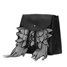 Высокое качество PU кожаный рюкзак для Для женщин подростков Обувь для девочек дамы HASP одноцветное Цвет softback мягкая ручка рюкзак для ноутбука