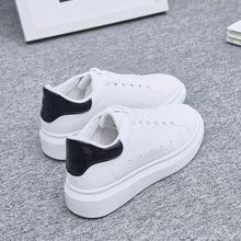 Women Shoes White Sneakers For Women Vulcanize Shoes Spring Autumn Krasovki Women Casual Shoes Basket Trainers Tenis Feminino