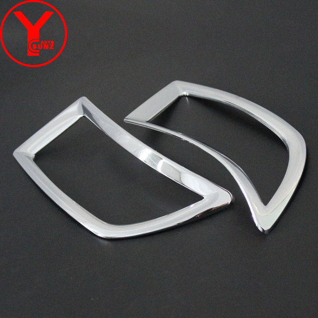 Rear Fog Light Cover For Toyota Yaris L Hatchback 2014 2015 2016