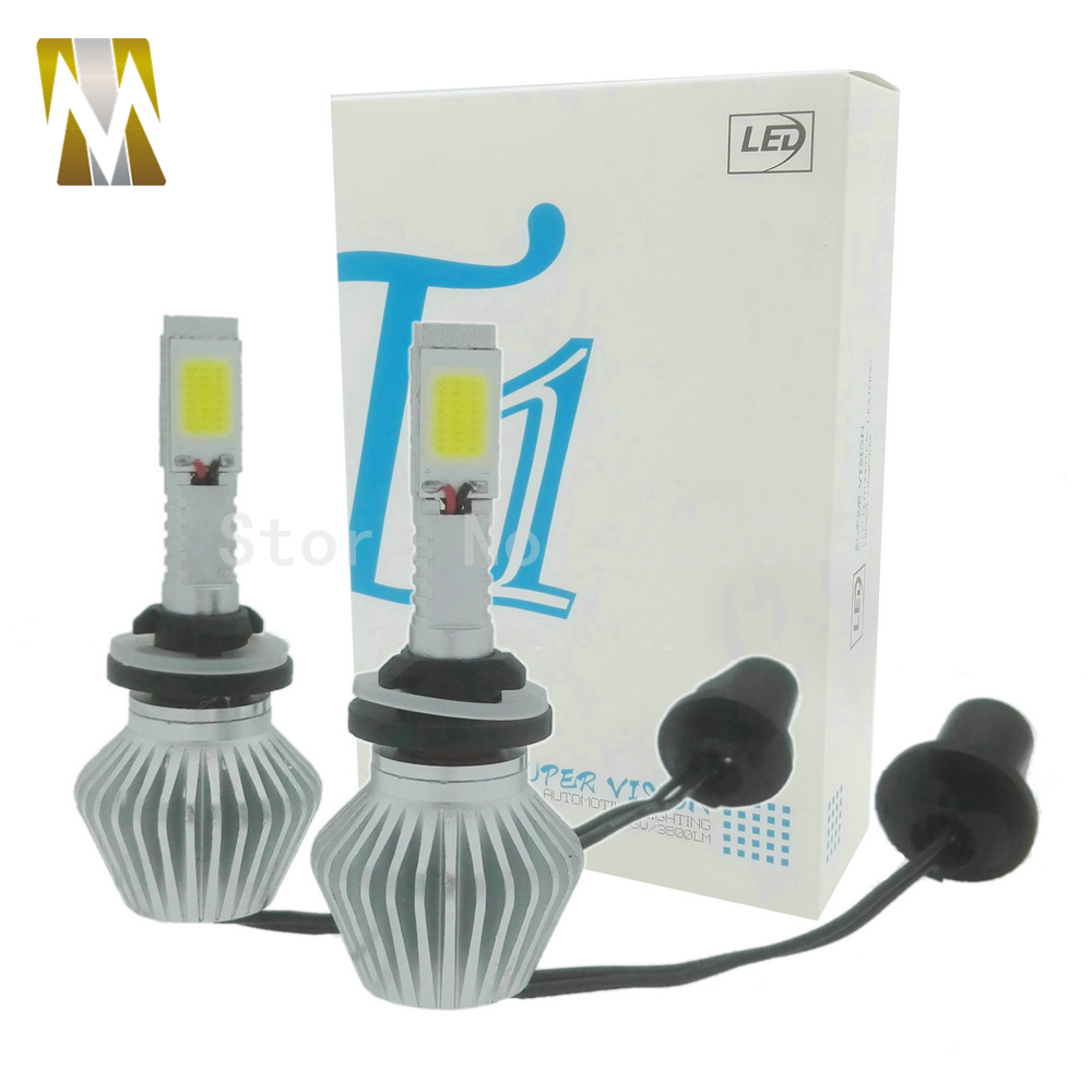 36W 3800LM 6000K Car LED Headlight 880/881 Replacement LED Bulb Headlamp Kit H7 H1 H3 H11/H8/H9 HB3/9005 HB4/9006 H27