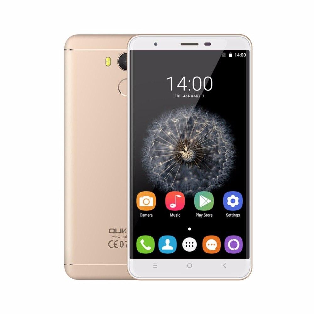 Original Oukitel MTK6753 U15 Pro 5.5 pulgadas Smartphone Octa Core 3G + 32G OTG