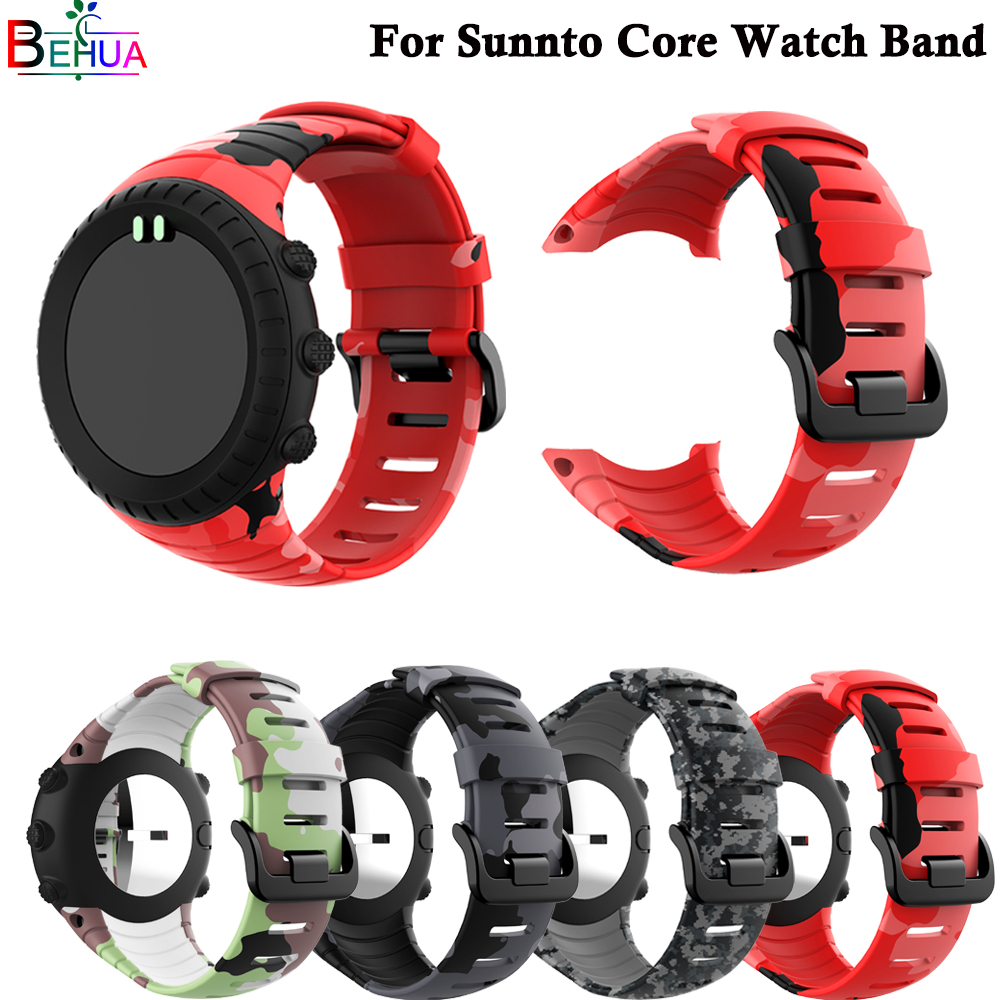 sport silicone watch band For Suunto Core smart watch Replacement Brand new high quality wristband watch belt smart accessoriessport silicone watch band For Suunto Core smart watch Replacement Brand new high quality wristband watch belt smart accessories
