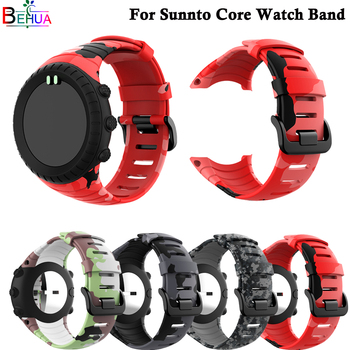 sport silicone watch band For Suunto Core smart Replacement Brand new high quality wristband belt accessories