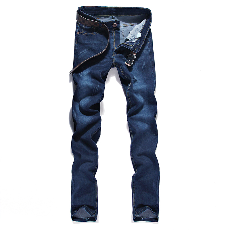 2019 Fashion New Men's Casual Stretch Jeans / Man's Cats Must Be Jeans Denim Pants Trousers / Size 28-36