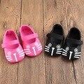 2016 primavera y el verano del otoño aprender a paso de 0-1 años viejos zapatos de bebé femeninos serie de la princesa inferior suave zapatos de bebé de dibujos animados