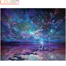 Diamond Embroidery Sale Full  Square / Round DIY Mosaic Love Sky Home Decoration Gifts L090