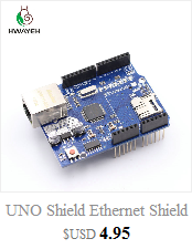 HWAYEH high quality One set UNO R3 CH340G+MEGA328P Chip 16Mhz For Arduino UNO R3 Development board + USB CABLE 11