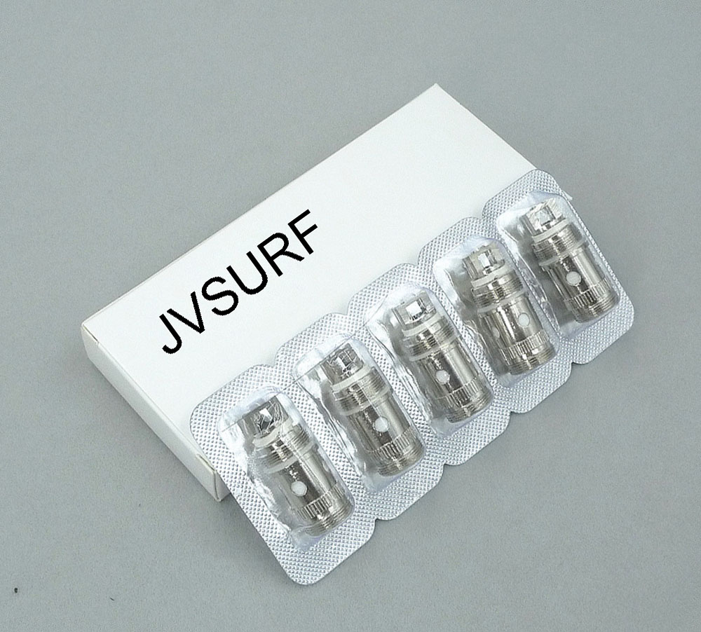 JVSURF 5pcs/lot Replacement Coil EC He 0.3ohm 0.5ohm 0.18ohm For iJustS/IJUST 2/Melo