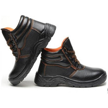 Black Leather Safety boots Men Work Boots Mens Breathable Outdoor Shoes Spring Autumn Anti-slip Puncture Proof