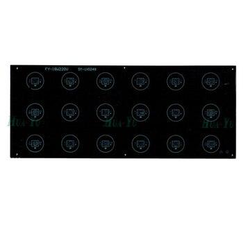 10pc 18W 290*120mm aluminum plate base, led heat sink board for floodlight, downlight, spotlight etc