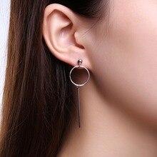 Asymmetrical Long Chain Earrings