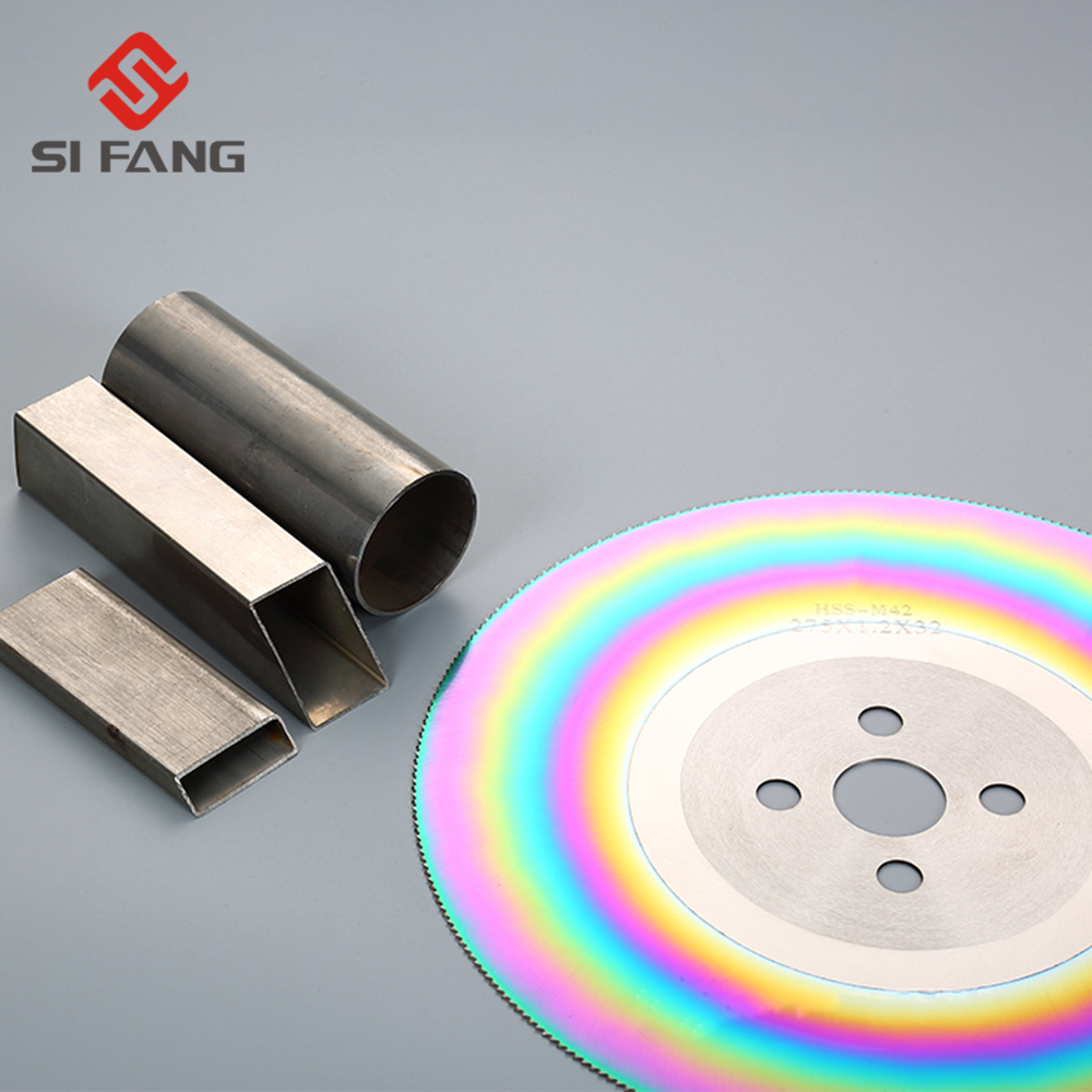 1pc HSSDM05/M2 made 250/275/300*32 mm TIN coating HSS saw blades for cutting steel/ SS steel/ Metal etc