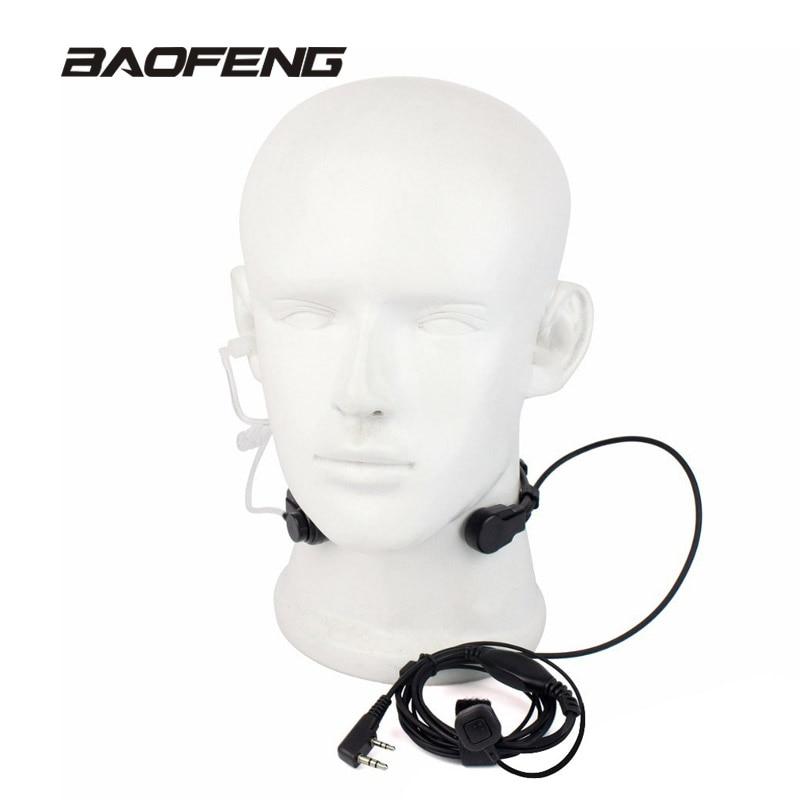 Extendable PTT Throat Microphone…