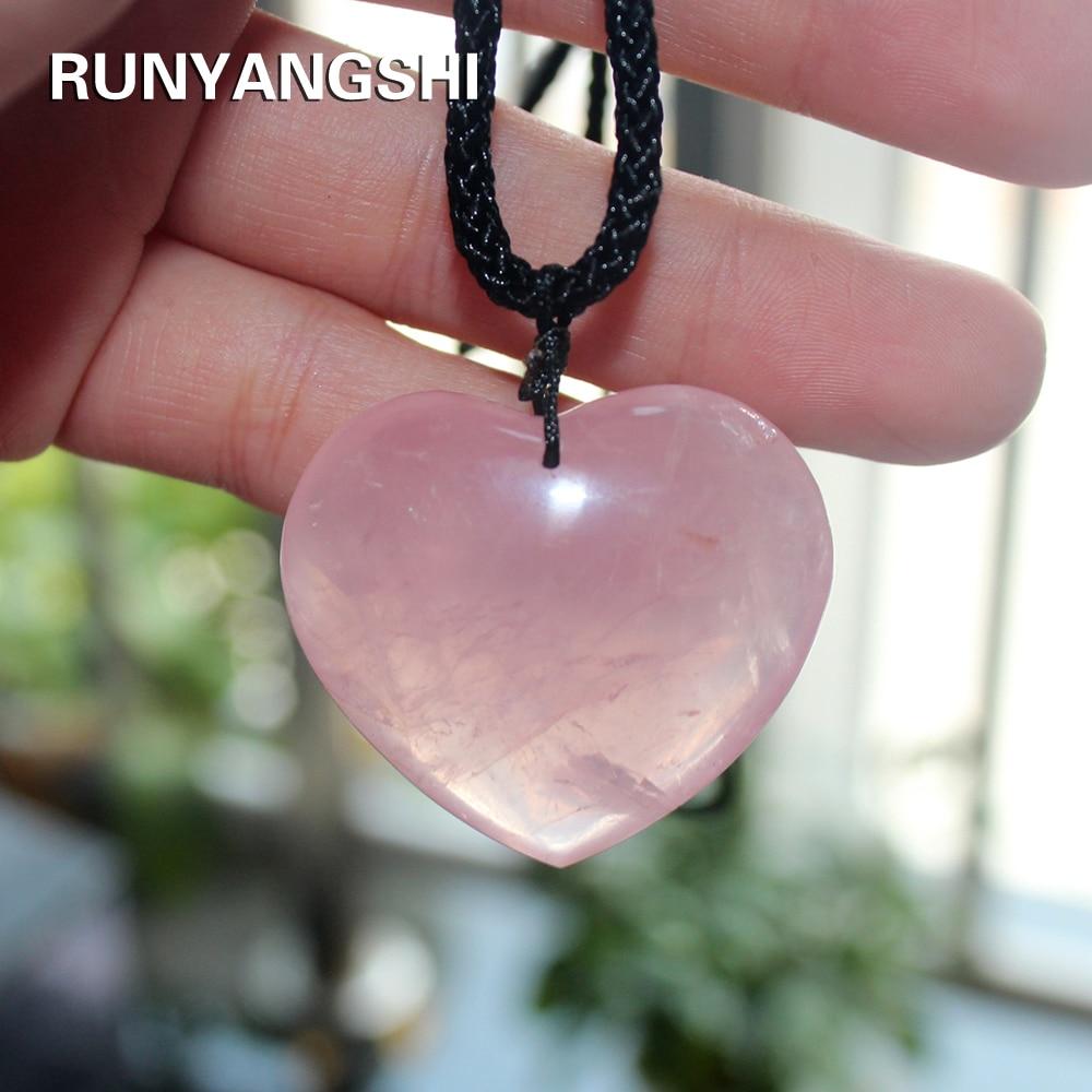 Rose Quartz Crystal Pendant Crystal Pendant With Rose Quartz and Pink Pearls White Boho pendant with crystals Rose Quartz for Open Hearts