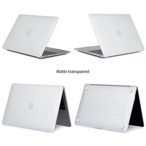 Image 4 - Funda de portátil dura para Apple Macbook Air 11 13,3 Pro Retina 13 15,4 para Macbook 12 pulgadas 2018 nuevo air Pro 13 con barra táctil + regalo