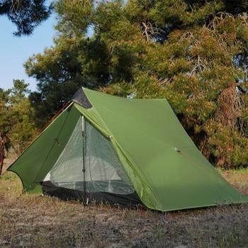 3f UL lanshan Green ultralight tent