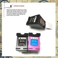 2BK 1C Remanufactured Ink Cartridge CH563EE CH564EE For HP301XL HP301 HP 301XL DeskJet 1050 2050 2050