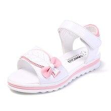 6c9964783e6a7 COZULMA filles princesse mignon arc feuille plage sandales chaussures  enfants antidérapant semelle en caoutchouc sandales enfants