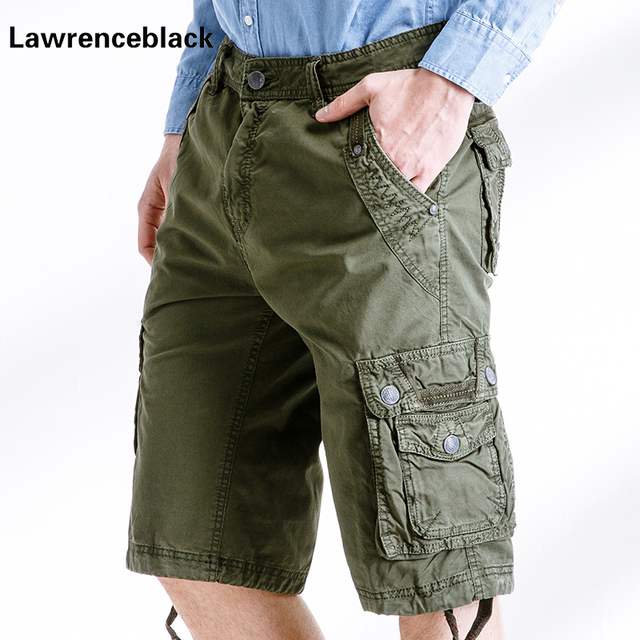 Bermuda Korte Broek Heren.Baggy Heren Shorts 2017 Jurk Bermuda Cargo Shorts Compressie Multi