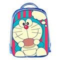 Nuevos Dibujos Animados Doraemon 13 Pulgadas Azul Mochila Mochilas escolares Para Pequeños Niños Lindos Bolsa de La Escuela Infantil Mochila Para Bebé
