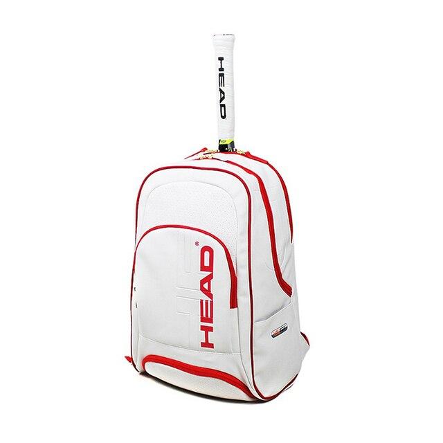 Original HEAD Tennis Bag Badminton Racquet Backpack Tennis Racket Bag Tennis Racket Backpack Raquete Tenis Backpack Christmas