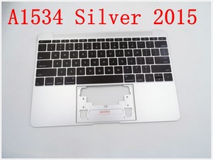 """Image 1 - Original IMIDO Topcase Space Silver  For Macbook 12"""" A1534 Top case with keyboard and backlight 2015"""
