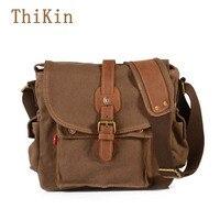 Augur Capacity Crossbody Bags Army Style Men S Handbag Retro Canvas Multifunctional Crossbody Bag Travel Women