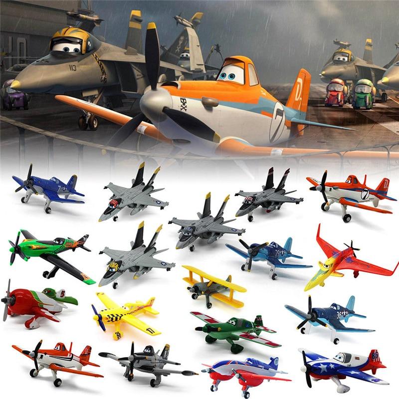 10-12cm Pixar Planes 1:55 The King Skipper Dusty Crophopper Ishani Shipboard Aircraft Kids Gift Metal Diecast Toy Plane Loose great planes yak 50 55