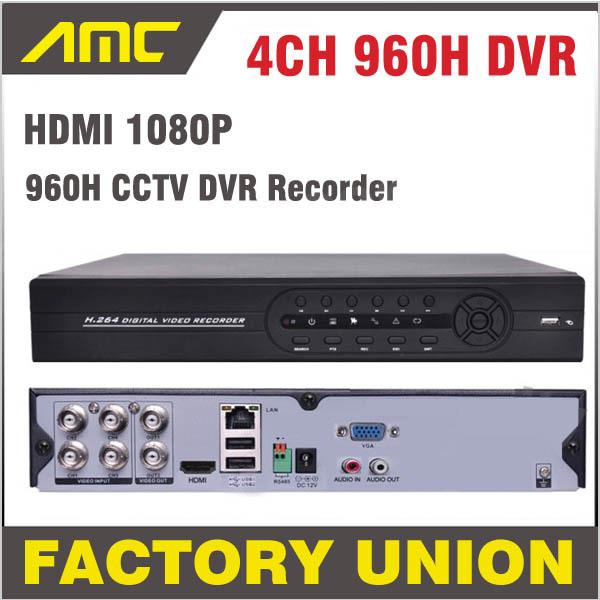 2014 new 1080P HDMI H.264 4ch Full D1 CCTV DVR  HV...