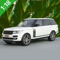 diecast wheel 1:18 Alloy Toy Sports Car Model RANGE ROVER SUV of Children's Toy Cars Original Authorized Authentic Kids Toys