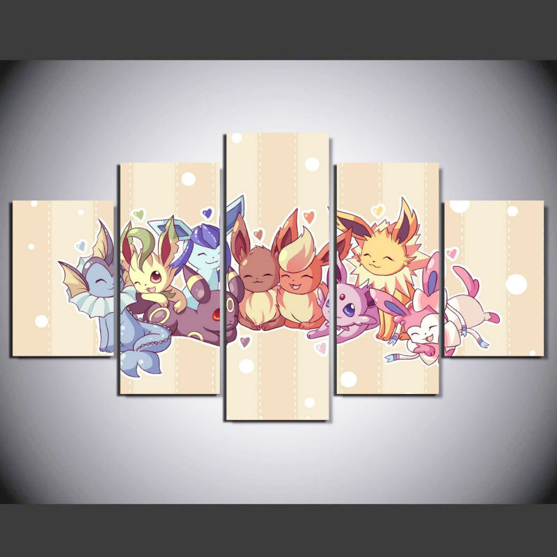 Pokemon Wall Decor pokemon canvas wall art promotion-shop for promotional pokemon