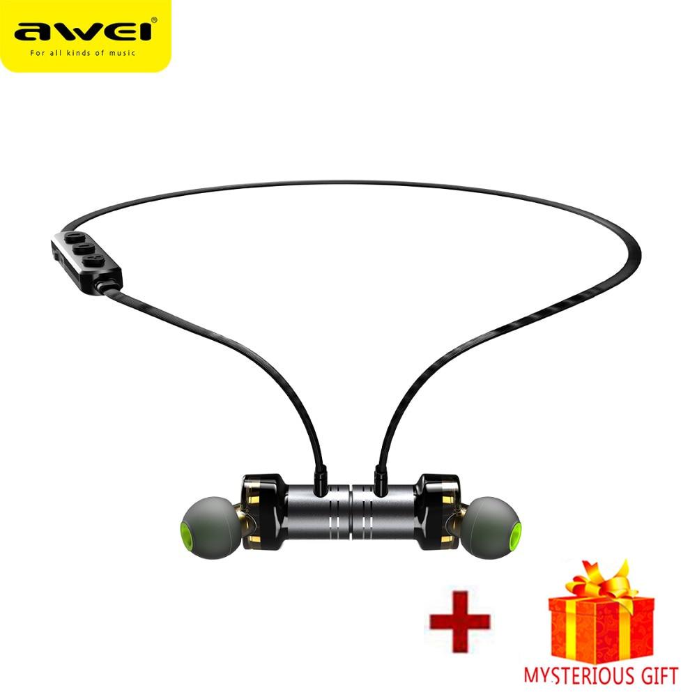 Awei Sport Blutooth Wireless Headphone Bluetooth Earphone Headset For In Ear Phone K Earbud In-Ear Handsfree Earpiece Auricular