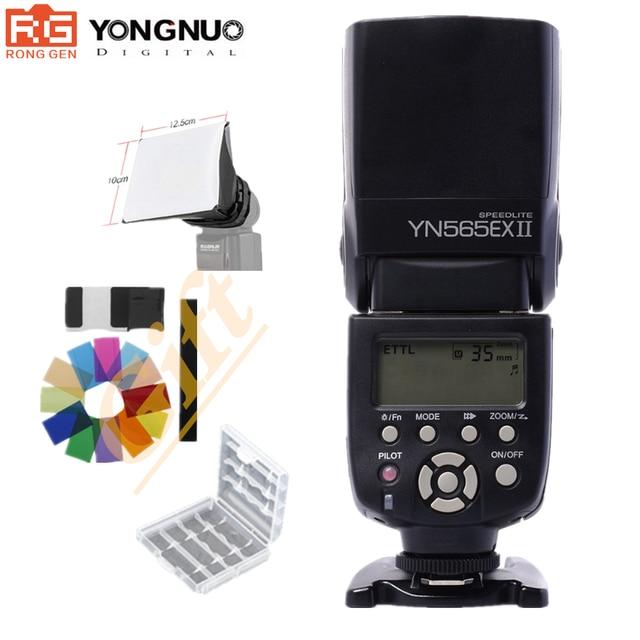 Yongnuo YN 565EX II YN 565EX II Wireless Flash Speedlite Per Canon 6D 7D 70D 60D 600D XSi XTi T1i T2i T3