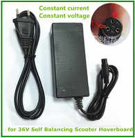 Cargador de batería Universal de 42V y 1,5 a, fuente de alimentación de 100-240VAC para scooter aerotabla autoequilibrante
