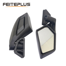 1 Pair New Style Rear View Mirrors UTV Racing Off road Rearview Mirrors Set For Can am BRP UTV Maverick X3 2017 2018