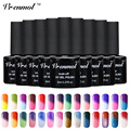 Vrenmol 1Pcs Temperature Color Changing Nail Gel Polish Long-lasting Soak-off LED UV Thermo Chameleon Gel Varnish For DIY