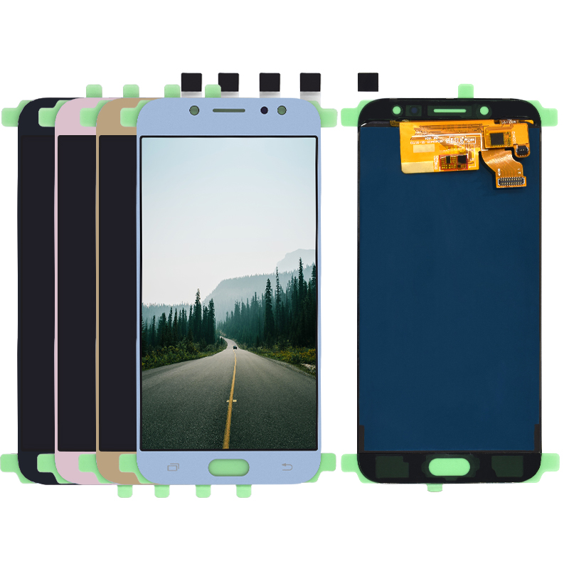Nouveau Testé TFT Pour Samsung Galaxy J7 Pro 2017 LCD J730 Affichage Écran Tactile J730F L'assemblée Remplacement Pour Samsung J7 pro