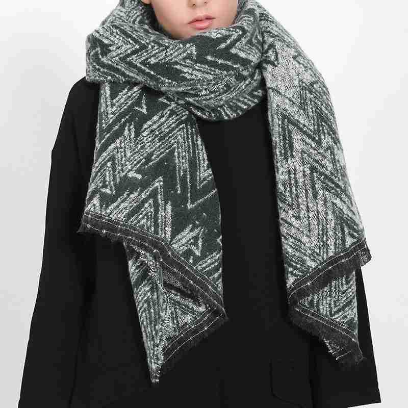 2016 Winter Women Scarf Luxury Brand font b Tartan b font Foulard Feminino Blanket Scarf YJWD824